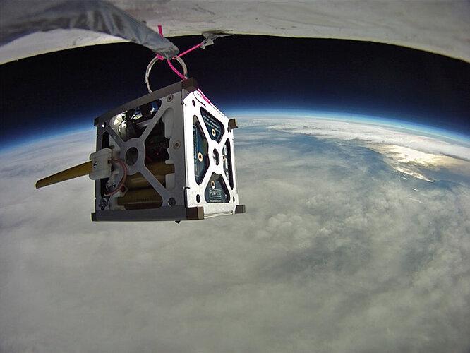 PhoneSat-10-high-altitude-balloon-test